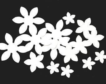 Petal paper flower for wedding decor, card making, wedding invitation, table decoration, scrapbooking, card making or collage