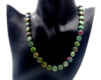 Necklace India Ruby Fuchsite