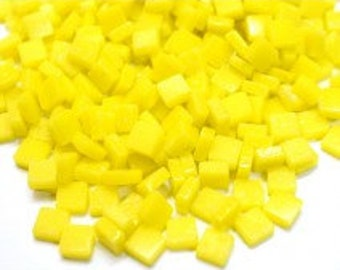 8mm Micro Mosaic Craft Tiles - Lemon Tart Matte