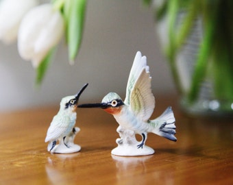 Vintage Hummingbird Figurine