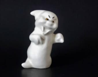 Porcelain Ghost Figurine Vintage Ghost Figurine