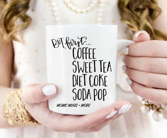 "16 oz ""But First..."" Coffee Mug"
