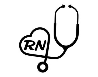Nurse/RN Decals! 2-pack - select your choice