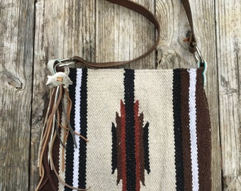 saddle blanket bag- The Cheyenne