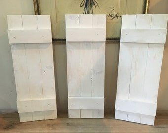 Mini Barn Shutters - Set of 3