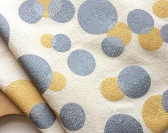 Bubbles, Flour Sack Towel, Kitchen, Tea Towels, All Natural Cotton Towel