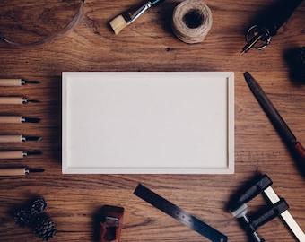 Wood Box / Unfinished Wood Box / Album Wood Box / Book Wood Box / Wedding Wood Box / Gift Wood Box / Wooden Box / Planner Box / Sliding Lid