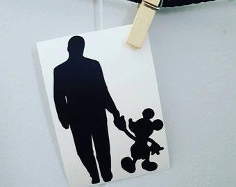 Walt Disney Car Decal Walt Disney Decal Disney Car Decal Disney Decal Disney Sticker Mickey Mouse Car Decal Mickey Mouse Decal Mickey Mouse