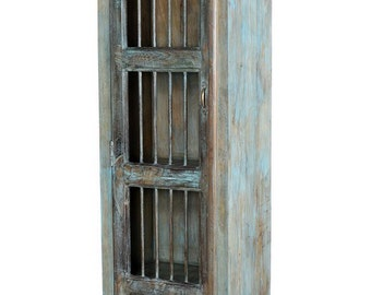 Indian  reclaimed wood cupboard