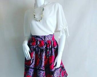 The LAMI ankara skirt