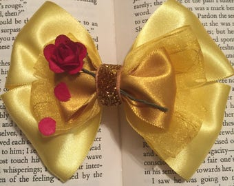 Until the Last Petal Falls 'Belle' Hair Bow