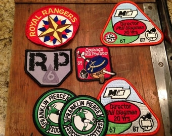 Vintage Patch Collection, Soccer, RP6, Royal Rangers