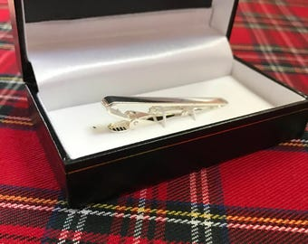Beautifully Made Silver Tie Clip