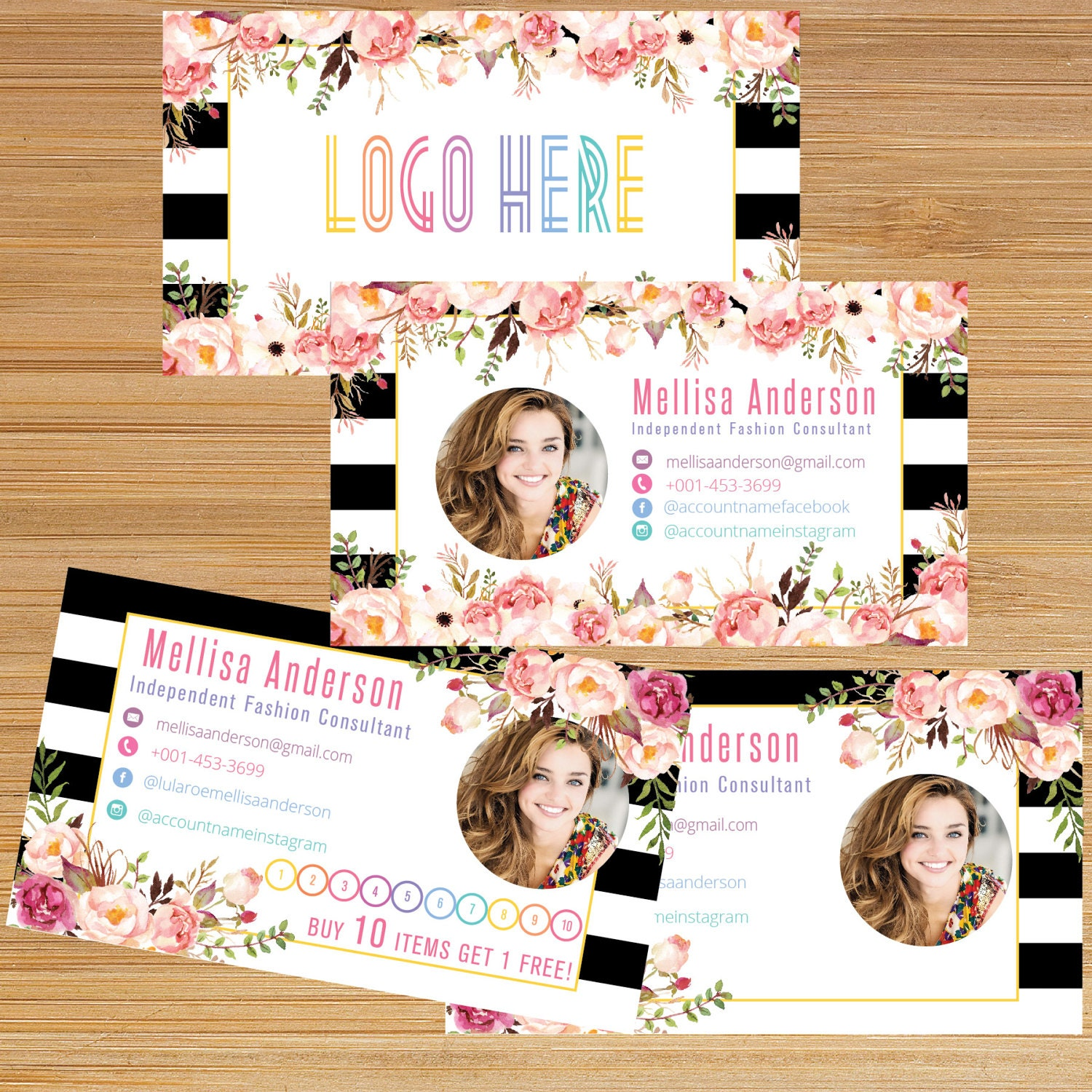 business punch card business card cards buy 10 get 1 free. Black Bedroom Furniture Sets. Home Design Ideas