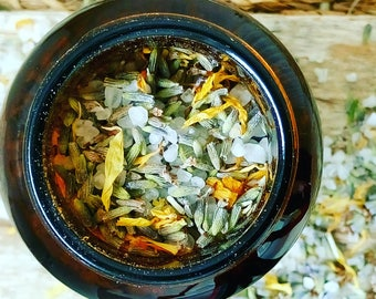 Calendula and Lavender Botanical Bath Salts