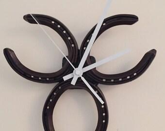Horse shoe Clock