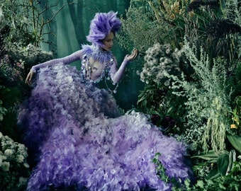 Prom dress by Tatiana Masse by TanyaSwan, dress made by Seamstress, tulle, fluffy, puffy, luxury dress.