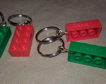 Lego* keyring Personalised - key chain