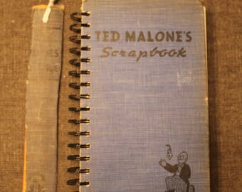 Ted Malone's Scrapbook Journaling Book