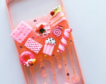 Sale:READY TO SHIP Rilakkuma Valentines' special decoden case for iphone 6/6s