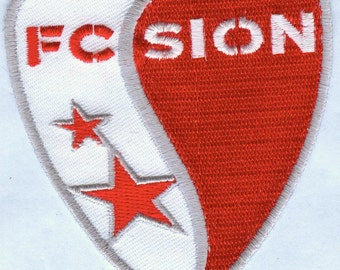 FC Sion Swiss Switzerland Football Club EMBROIDERED Patch