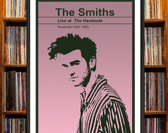 The Smiths Concert Poster