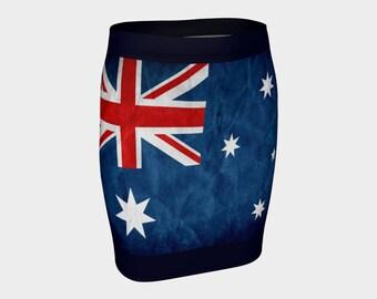 Australian flag skirt, Australian proud, Australia flag, Australia skirt, Australia Skirt, Australia day, Aussie flag, Ozzie flag