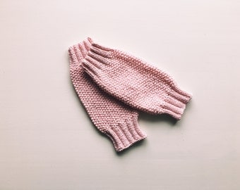 CUSTOM Knit Baby/Toddler Leg Warmers