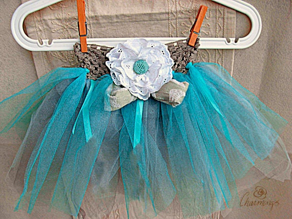 Teal Tutu, Blue Tutu, Princess Tutu, Ballerine Tutu, Dress-up Tutu