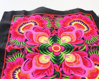 Tribal Textile Crafts DIY Piece Of Embroidered Fabric
