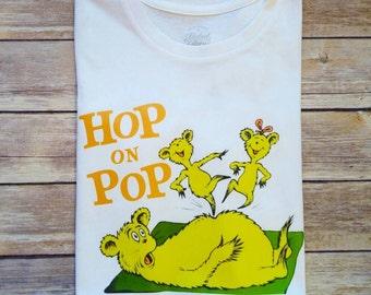 Hop on Pop... white short sleeve shirt*