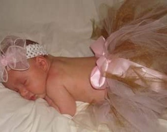 newborn tutu with bow