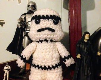 Stormtrooper Star Wars Amigurumi
