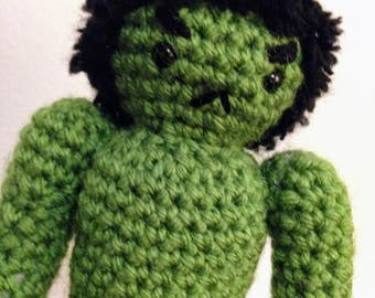 The Incredible Hulk Amigurumi