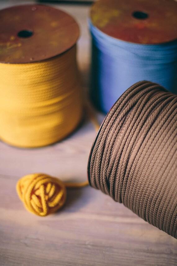Macrame cord/ Chunky yarn/ diy crafts/ craft projects/ cafts/ crochet rope/ crochet supplies/ macrame cord/ rope yarn cord #10 #207 #14