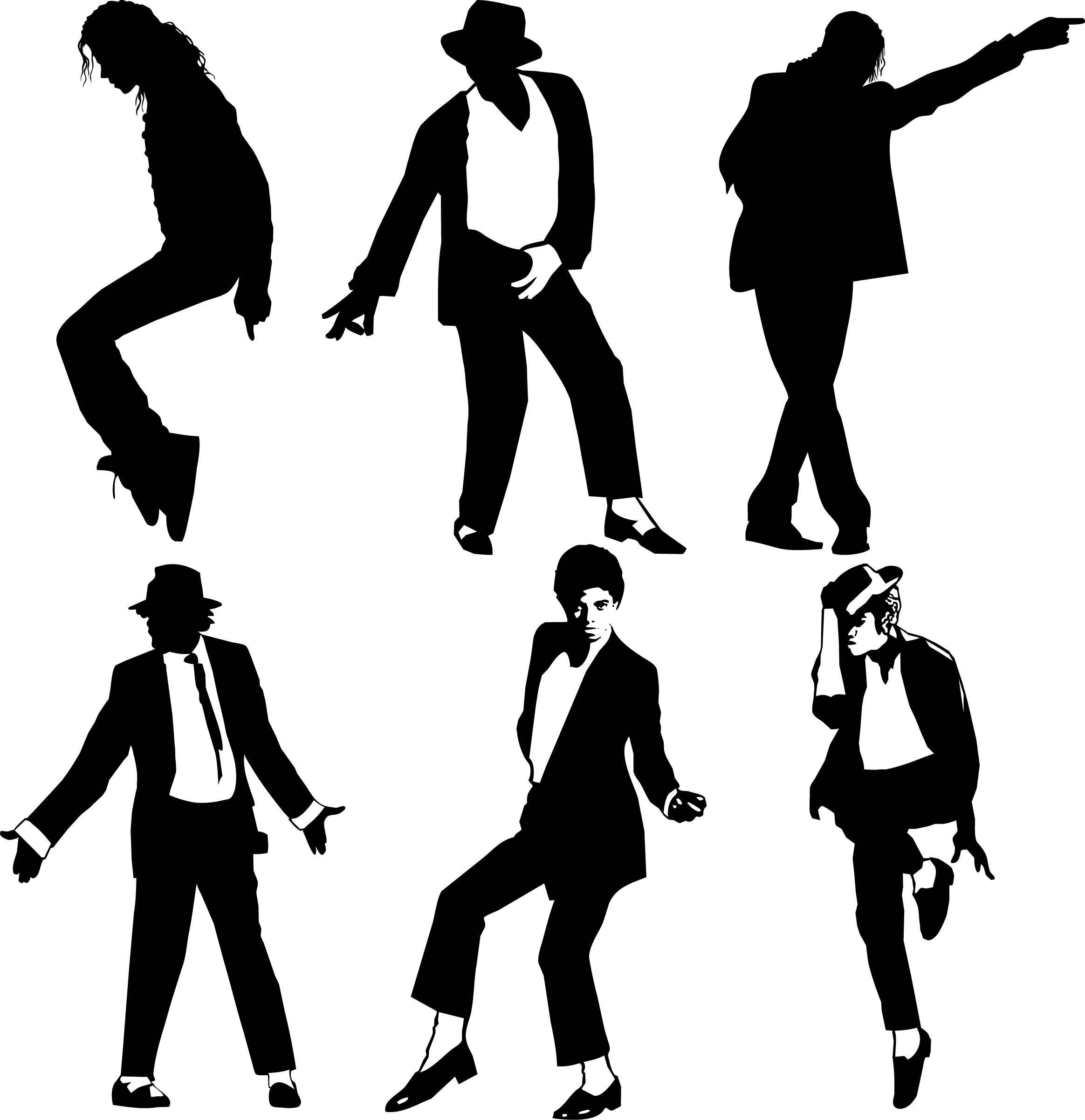 Michael Jackson Svg Clipart Michael Jackson Vector Svg