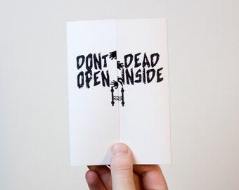 The Walking Dead Christmas Card | Walking Dead Card