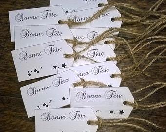 Canson paper label happy string of jute veronpiotcreation