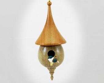 Birdhouse Ornament, Christmas Ornament, Ornament, Birdhouse