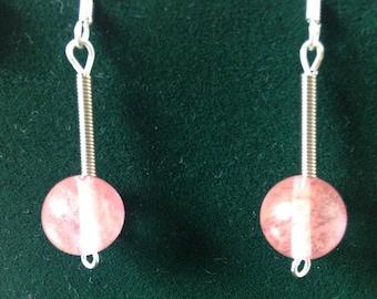 Patti's Pink Party Earrings