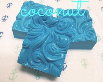 READY TO SHIP!! Wave soap, cloud soap, coconut soap, handmade soap, Shea butter soap