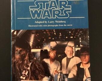 1985 STAR WARS Step Up Movie Adventures Book Random House