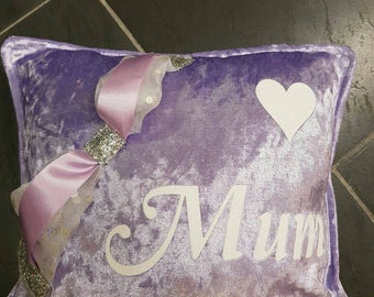 Mother's Day/Occasions Crushed Velvet Cushions