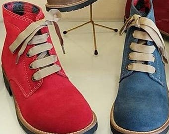 Suede Handmade Boots - Very Fashionable - Portuguese Craft