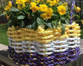 Medium Handwoven Rope Basket