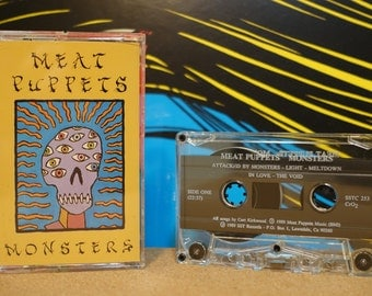 Monsters by Meat Puppets Vintage Cassette Tape