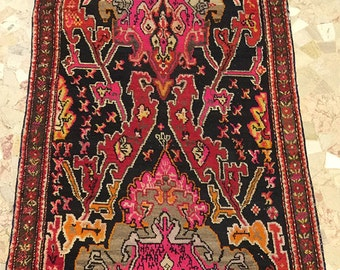 -30% discount antique Rug karabagh ancient Caucasus 275 x 103 cm