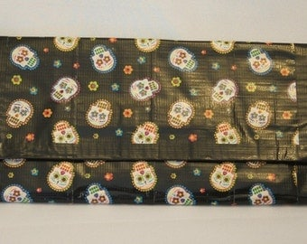 Sugar Skulls Women's Duct Tape Clutch/Wallet