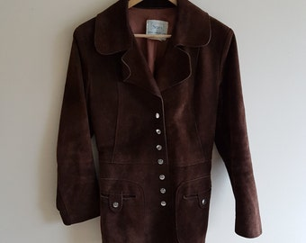 Vintage leather jacket, ladies vintage leather
