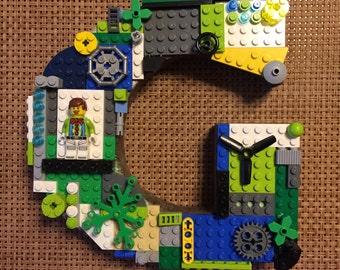 """LEGO Monogram Letter G - 7"""""""